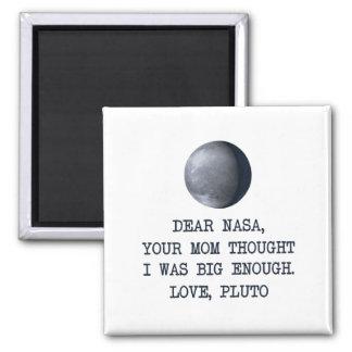 Liebe die NASA-Liebe Pluto Quadratischer Magnet