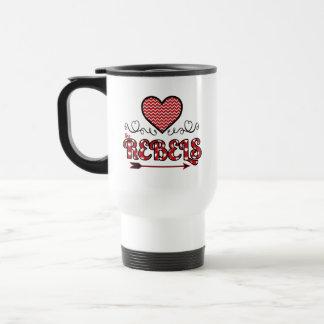 Liebe die Rebell-personalisierte Tasse