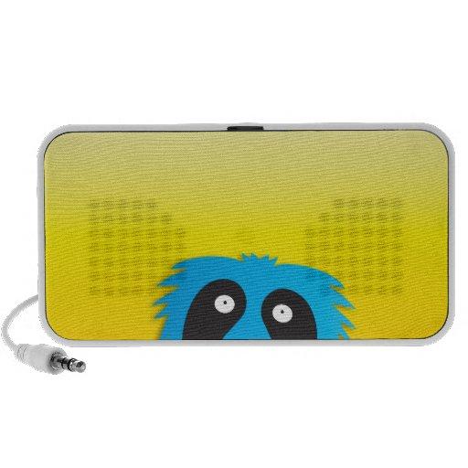 Liebe dieses blaue niedliche des Monsters! Lautspr Tragbare Lautsprecher