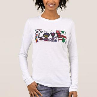 Liebe durch Francesco Rengifo Langarm T-Shirt