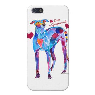 Liebe ein Windhund iPhone 5C Abdeckungen iPhone 5 Hüllen