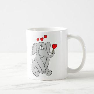 Liebe-Elefant! Kaffeetasse