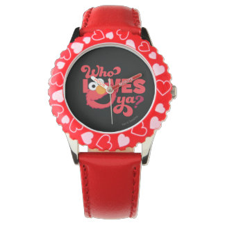 Liebe Elmo Armbanduhr