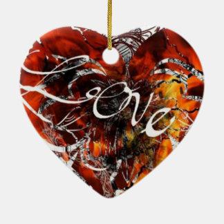 Liebe-Entwurf durch Nathan Robert Simonson Keramik Ornament