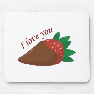 Liebe-Erdbeere Mauspad
