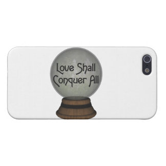 Liebe erobert alle Kugel Hülle Fürs iPhone 5