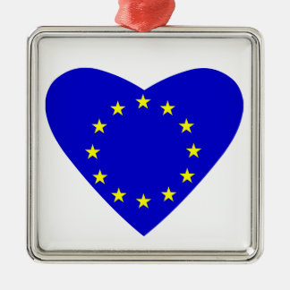 Liebe Europa Silbernes Ornament