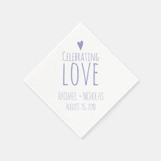 Liebe feiern Wedding | Servietten