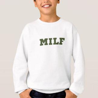 Liebe-Fitness-großes Turnhallen-Geschenk Milf Sweatshirt
