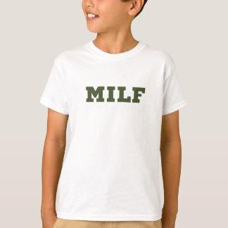 Liebe-Fitness-großes Turnhallen-Geschenk Milf T-Shirt
