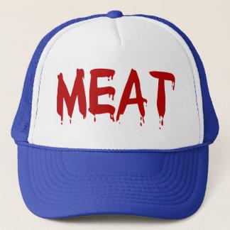 Liebe-Fleisch-Huhn-Rindfleisch-Ziegen-Kuh-Blut des Truckerkappe
