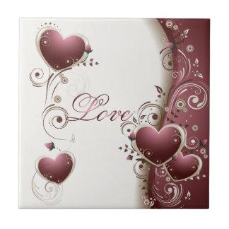 Liebe-Fliese Kleine Quadratische Fliese
