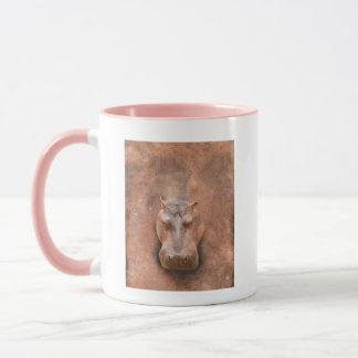 Liebe-Flusspferdelustiges Hippopotamus Loverss Tasse