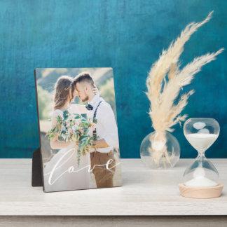 Liebe-Foto-Plakette Fotoplatte