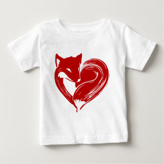 Liebe Foxes Kleidung Baby T-shirt
