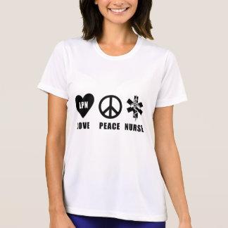 Liebe-Friedenskrankenschwester der T-Shirt