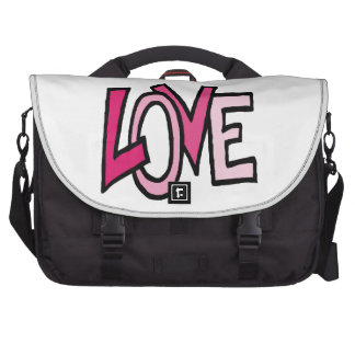 Liebe (funky Wort) Laptoptaschen