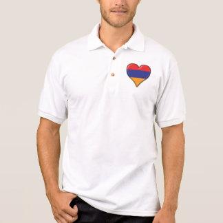 Liebe für Armenien Polo Shirt