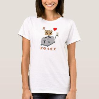 Liebe für Toast-T - Shirt