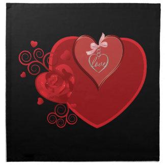 Liebe-Gefühlen Serviette