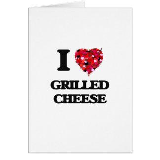 Liebe gegrillter Käse I Grußkarte