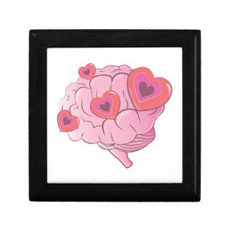Liebe-Gehirn Erinnerungskiste