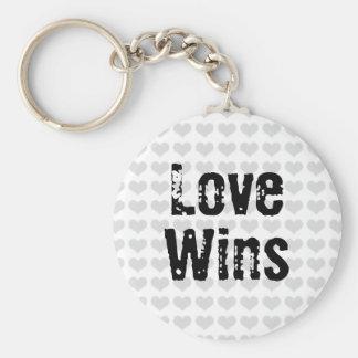 Liebe-Gewinne Schlüsselanhänger