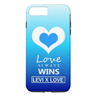 """""""Liebe gewinnt immer"""" - LIEBE LEVIS X iPhone 8 Plus/7 Plus Hülle"""