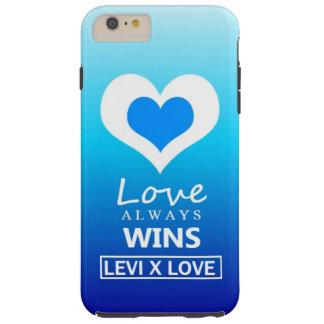 """Liebe gewinnt immer"" - LIEBE LEVIS X Tough iPhone 6 Plus Hülle"