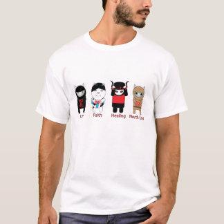 Liebe-Glauben-Heilennordosten T-Shirt