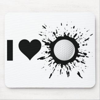Liebe-Golf des Sprengstoff-I Mousepad