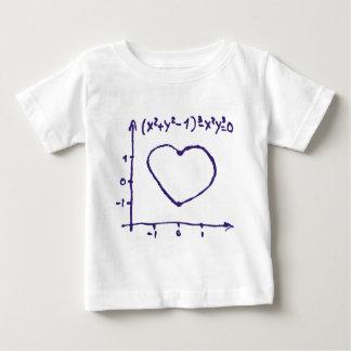 Liebe-Grafik Baby T-shirt