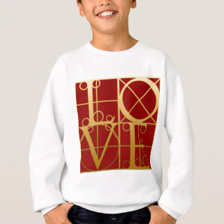 LIEBE Grafik Sweatshirt