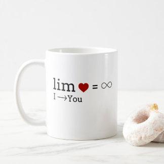 Liebe-Grenze Kaffeetasse