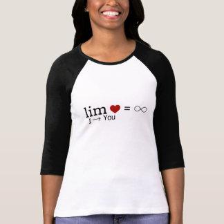 Liebe-Grenze PERSONIFIZIEREN T-Shirt