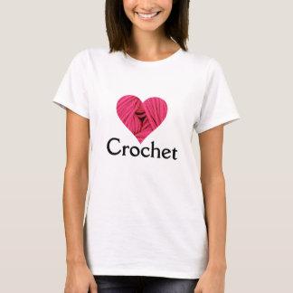 Liebe-Häkelarbeit-T - Shirt
