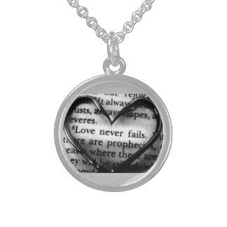 Liebe Sterlingsilber Halsketten