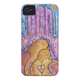 Liebe Hamsa iPhone 4 Hülle