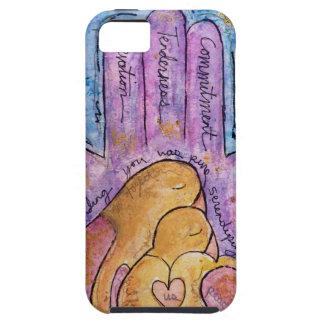 Liebe Hamsa iPhone 5 Schutzhülle