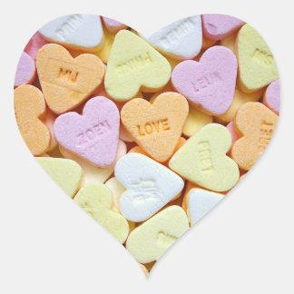 Liebe-Herz-Herz-Aufkleber, glatt Herz-Aufkleber