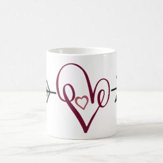 Liebe-Herz Kaffeetasse