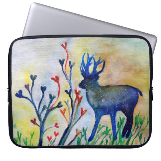 "Liebe-Herz-Ren-Neopren-Laptop-Hülse 15"" Laptop Sleeve"