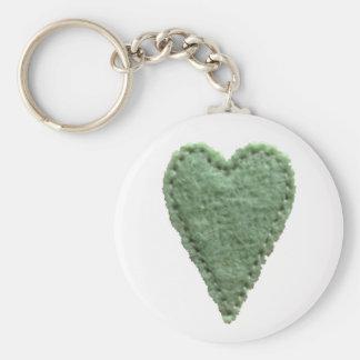 Liebe-Herz-Schlüsselkette Standard Runder Schlüsselanhänger
