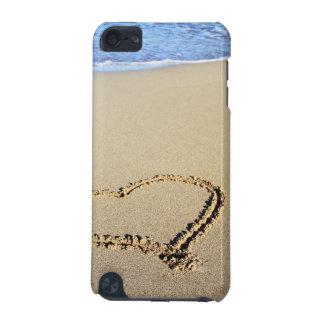 Liebe-Herz-Strand iPod Touch 5G Hülle
