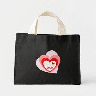 Liebe-Herz Einkaufstasche