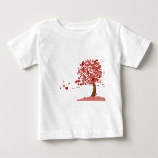Liebe-Herzen Baby T-shirt
