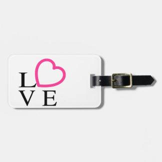 Liebe-Herzen Kofferanhänger