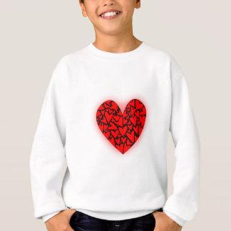 Liebe-Herzen Sweatshirt