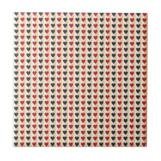 Liebe-Herzvalentine-rosarote schöne Liebhaber Fliese