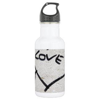 Liebe-Herzzeichen Trinkflasche